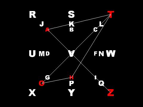 Azathoth 3D Sigil Letters