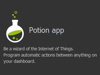 Netvibes Potion App
